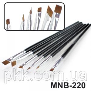 Набор кисточек для дизайна MaXmar 6 инструментов MNB-220