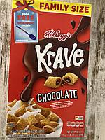 Сухой завтрак хрустящие подушечки с шоколадом Kellogg's Krave