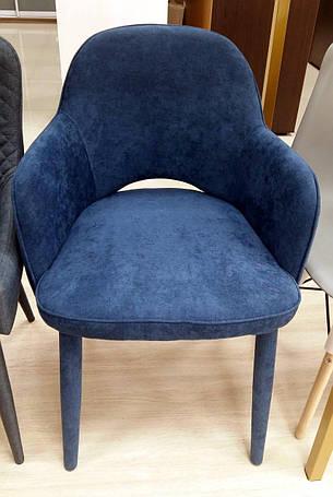 Кресло Roli (Роли) MC - 16-2 Евродом, обивка жаккард Dark Blue, фото 2