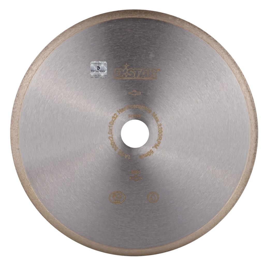 Круг алмазный отрезной Ди-стар 1A1R 300x2/1,6x10x32 Hard ceramics