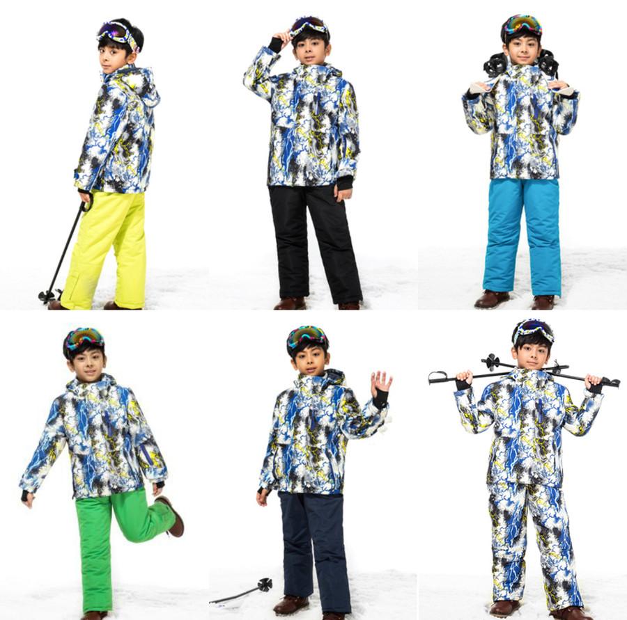 """Лыжный костюм """"Гроза"""" - 6 расцветок"""