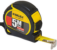 Рулетка SIGMA 5м 19мм