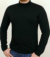 Черный мужской гольф-водолазка Турция (размеры 44-46-48-50-52-54-56-58)