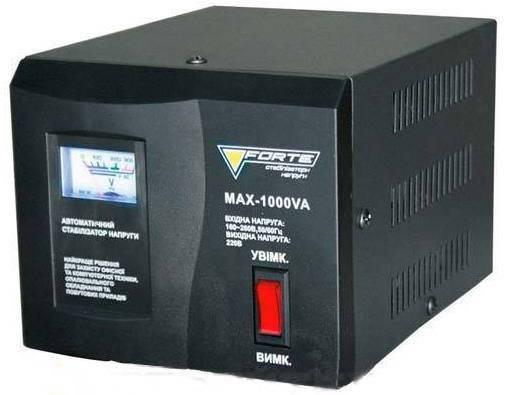 Cтабилизатор напряжения FORTE MAX-1000VA, фото 2