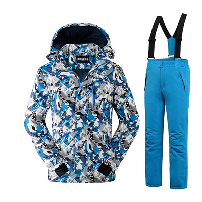 """Лыжный костюм """"Графика"""" - 5 расцветок"""