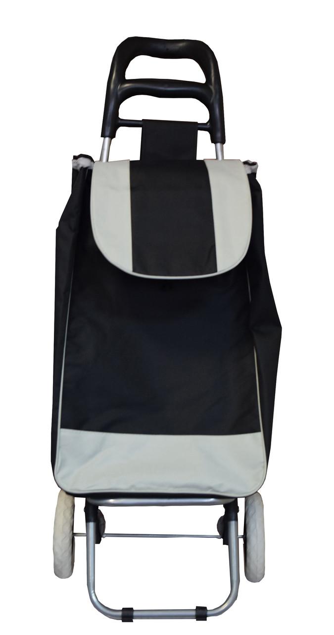 🔝 Дорожная сумка на колесах, Черного цвета, хозяйственная сумка на колесах Двухцветная| 🎁%🚚