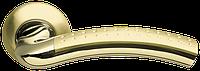ARMADILLO Ручка раздельная Libra LD27-1SG/GP-4 матовое золото/золото