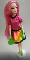 Набор платье, туфли и сумочка для куклы Барби, фото 1