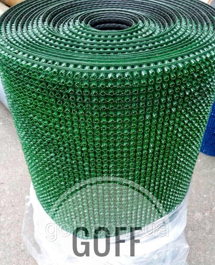 Грязезащитные коврики - щетинистое покрытие темно-зеленое