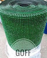 Грязезащитные коврики - щетинистое покрытие темно-зеленое, фото 1