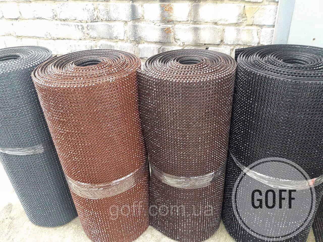 Рулонные покрытия - щетинистое покрытие - черное