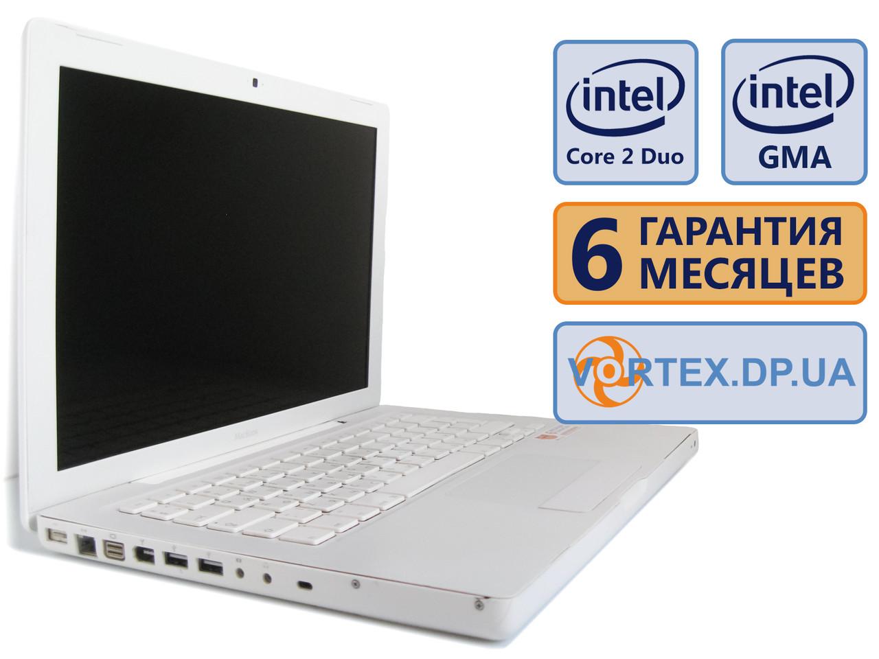 Ноутбук Apple A1181 13.3 (1280x800) / Intel Core 2 Duo T8100 (2x2.1) / RAM 3Gb / HDD 120Gb / Сост. 9/10 БУ / Win 7