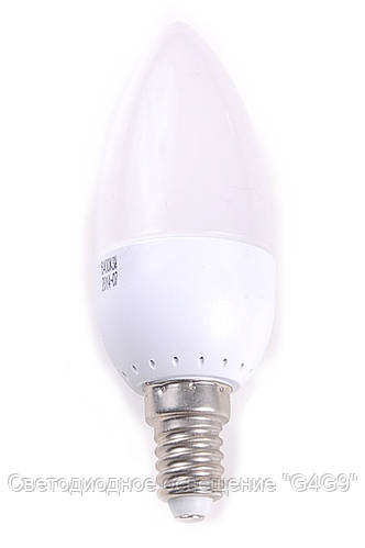 Светодиодная лампа свеча Е14 3W