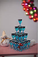 Сервировочная посуда бокалы стекловидные для фуршета банкета презентаций выставки PARTY CFP 6шт/уп 70мм130мл