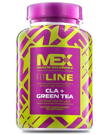 MEX Nutrition ЦЛА Зеленый чай CLA + Green Tea (90 softgels)