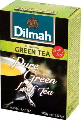 Чай Зеленый Листовой Dilmah 100 гр