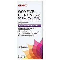 GNCВитамины для женщинWomen's Ultra Mega 50 Plus One Daily60 caplets