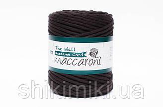Эко шнур Macrame Cord 5 mm, цвет Черный шоколад