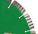 Круг алмазный отрезной по граниту Distar 1A1RSS/C3-W 230x2,6/1,8x22,23-16-ARPS 38x2,6x10+2 R103 Maestro, фото 2