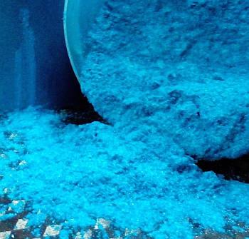 Перламутр колір синій - 20 грам