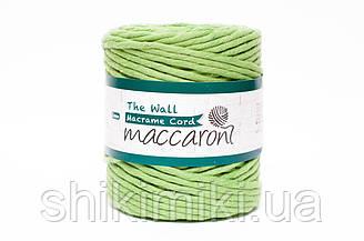 Эко шнур Macrame Cord 5 mm, цвет Зеленое яблоко