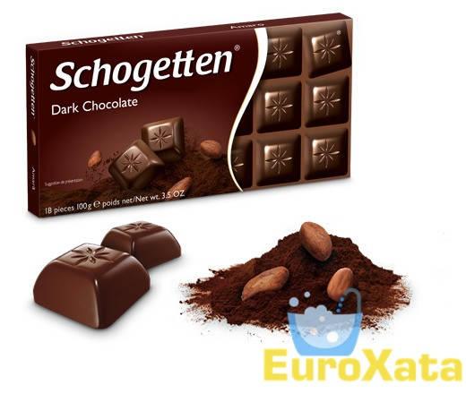 Шоколад Schogetten Dark Chocolate темный шоколад 100 гр