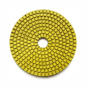 Гибкий полировальный круг (черепашка) для гранита и мрамора 100x4x15 Baumesser Premium зернистость  №1500