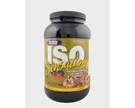 Ultimate Nutrition Протеин изолят ISO Sensation 93 (910 g )