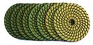 Гибкий полировальный круг (черепашка) для гранита и мрамора 100x3x15 Baumesser Standard зернистость №1500, фото 3