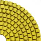 Гибкий полировальный круг (черепашка) для гранита и мрамора 100x3x15 Baumesser Standard зернистость №1500, фото 4