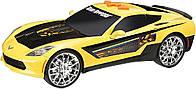 Автомобиль Chevy Corvette C7 Wheelie Power 28 см в ассортименте Toy State (33300)