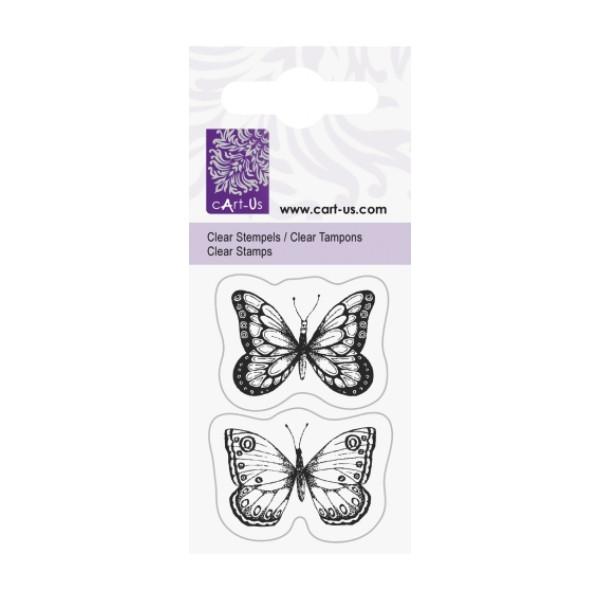 Штамп Knorr Prandell Бабочки размер: 5x6 см акрил  8712926408540