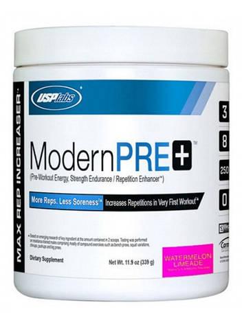 Предтренировочный комплекс USP Labs Modern Pre+  (334 g blue raspberry) срок до 11.17