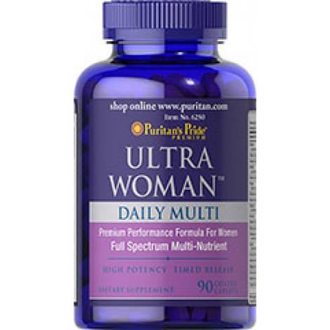 Puritan's Pride Витамины и Минералы Ultra Woman Daily Multi Time Release 90 caplets