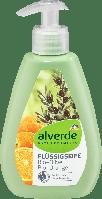 Органическое жидкое крем-мыло alverde NATURKOSMETIK Bio-Olive-Orange, 300 мл., фото 1