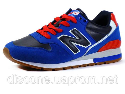 Кроссовки New Balance мужские комбинированные, темно-синие/синие