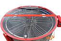 """8-мі рамкова Медогонка з поворотом касет під рамку """"РУТА"""", неіржавіюча (ротор Н/Ж, з кришкою), фото 2"""