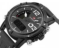 Мужские наручные кварцевые часы Naviforce NF9095-BWGY