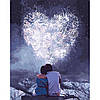 """Картина по номерам - Люди """"Влюбленные сердца"""" 40*50см"""