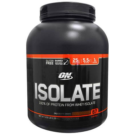 Optimum Nutrition Протеин Изолят Оптинум Нутришн Isolate 736 g