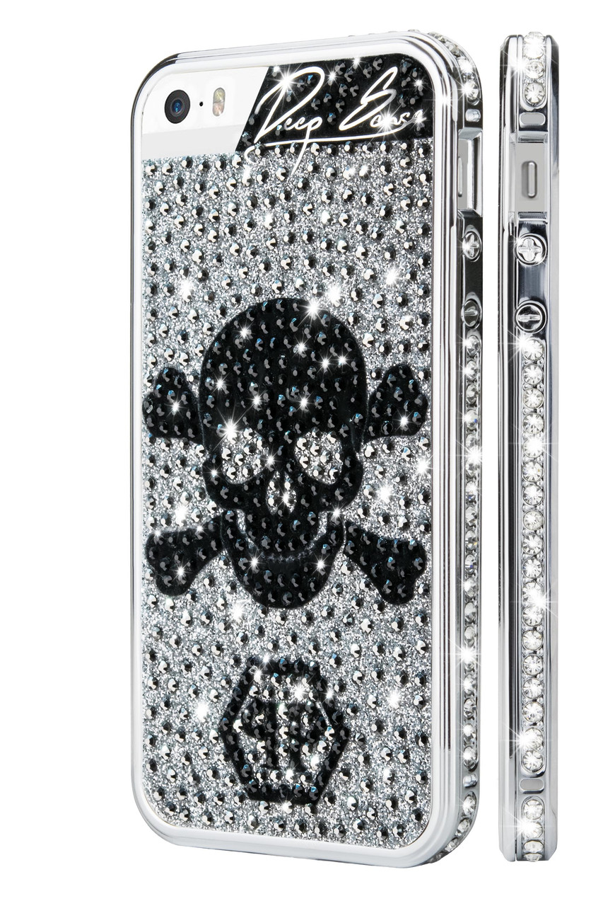 Бампер со стразами для IPhone