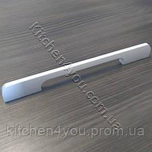 Меблева ручка MAR 8154 192 мм. мат. хром