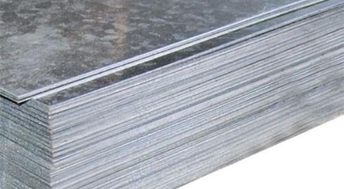 Лист нержавеющий пищевой AISI 304  8.0х1000х2000 2B матовая поверхность