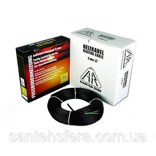 Двужильный нагревательный кабель Arnold Rak Standart 6115-20 ЕС  для систем теплый пол