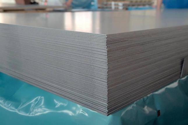 Лист нержавеющий AISI 430 6,0х1000х2000 технический, фото 2