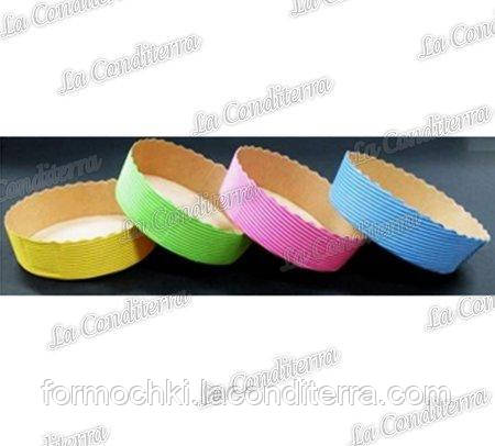Форма для кексов Tortine голубая (диаметр - 100 мм)
