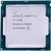 Процессор 2 ядра Intel CORE i3-6100 3.70GHz LGA1151
