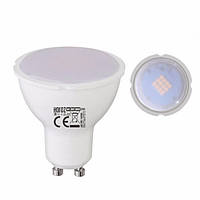 Cветодиодная лампа HOROZ 6W MR16 GU10 6400K CW PLUS-6 LED LAMP