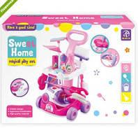 """Игровой набор для уборки A5938 """"Sweet Home"""", с пылесосом"""