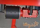 6-ти рамкова «ЄВРО» Медогонка з поворотом касет, нержавіюча (ротор Н/Ж, з кришкою) під рамку «ДАДА» — РЕМ, фото 7